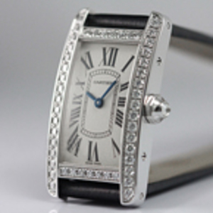 Replica Cartier Tank Americaine Diamonds Ladies Watch WB707331